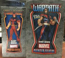 Bowen Designs WARPATH & THUNDERBIRD Statue Lot X-Men Marvel Comics Set Sideshow