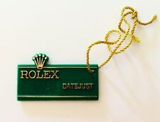 ROLEX Green Tag Hangtag DATEJUST 16203 16200 16078 16030 16018 16014 16013 16000