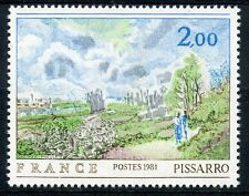 STAMP / TIMBRE FRANCE NEUF N° 2136 ** TABLEAU PISSARO