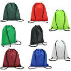 School Drawstring Book Bag Sport Gym Swiming PE Dance Shoe Backpack Travel Pouch