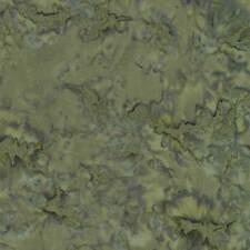 Timeless Treasures Priced per ½ yd Tonga B7900 Java Blender Moss Batik