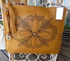 BRIGHTON NWT INDIE LEATHER CROSS BODY PURSE/ HANDBAG