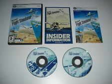Microsoft flight simulator x pc dvd rom base sim jeu fsx fs 10 x rapide post