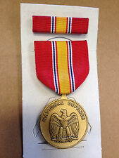 National Defence Service Medal w Ribbon