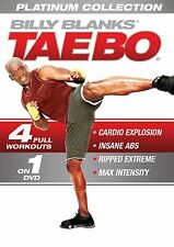 Billy Blanks' Tae Bo: The Platinum Collection DVD Box Set R4 Fitness 4 workouts