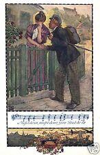 14472/ Künstlerkarte Deutscher Schulverein Karte Nr. 367