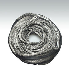 10mm x 40m Grey DYNEEMA SK-75 SYNTHETIC WINCH ROPE CABLE UHMWPE 9500Kg. 4x4 ATV
