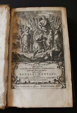 CAESAR, GAIUS JULIUS. [The Commentaries]: Venice, Elzevir, 1661.