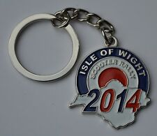 Isle of Wight Scooter Rally Souvenir Quality Enamel Keyring