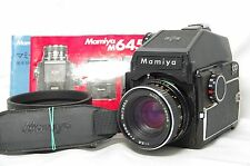Mamiya M645 Medium Format SLR Film Camera SN J39058 w/Sekor-C 80mm F/2.8 Lens