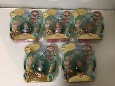 Barbie Peek -A-Boo Petites The Wizard of Oz 5 Figure Doll Set Gold Label New