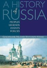 A History of Russia : Peoples, Legends, Events, Forces by Lindsey Hughes,...