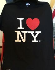 Vintage I LOVE NEW YORK Jerzees Brand 50/50% Cotton/Poly Thin T Shirt. Size M