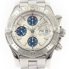 Authentic BREITLING A13340 A111G49PRS Chrono Super Ocean Automatic  #260-001-...