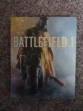 BATTLEFIELD 1 STEELBOOK CASE BRAND NEW For Xbox One/PS4 (no Game Disc)