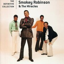 Definitive Collection - Smokey & The Miracles Robinson (2008, CD NEUF)