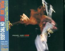 PEARL JAM - LIVE ON TWO LEGS 1ST PRESS JAPAN CD SRCS-8851 OBI DIGIPAK 1998