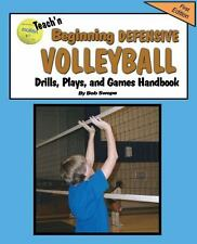 Teach'n Beginning Defensive Volleyball Drills, Plays, and Games Free Flow...