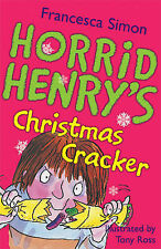 Horrid Henry's Christmas Cracker, Francesca Simon - Paperback Book NEW 978184255