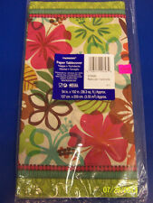 Eco Natural Instincts Floral Tropical Flowers Luau Beach Party Paper Tablecover