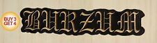 1BURZUM GD BACK PATCH,BUY3GET4,BATHORY,EMPEROR,MAYHEM,TAAKE,ULVER,IMMORTAL,MGLA