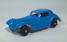 HC Vintage Tootsietoy 1939 Mercedes Benz Coupe Scale Model Die Cast Car Blue