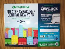 2016 Save Around SaveAround Coupon Book GREATER SYRACUSE CENTRAL NY