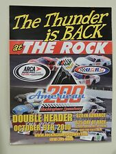 The Thunder is Back at The Rock Poster American200 Rockingham Spdwy 2010 18x24