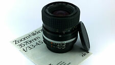 Nikon Ai-s Zoom-NIKKOR 35-70mm f/3.3-4.5 MACRO Lens + Manual & Caps.'MINT-' Cond
