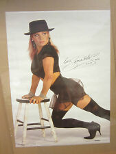 Samantha Fox Hot Girl  vintage Oginal Poster 1988 1921