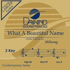 Hillsong - What A Beautiful Name -  Accompaniment CD NEW