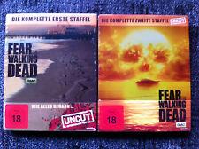 FEAR THE WALKiNG DEAD - Season 1&2 - Limited Steelbook - Blu Ray Region B/UK -