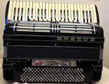 HOHNER MORINO V1N 185-FREE BASS PIANO ACCORDION-45/185-5V/6R-5V/3R-SAVE:£1,000!