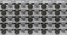 25 FRESH Genuine Energizer CR2032 ECR2032 3V Coin Button Batteries