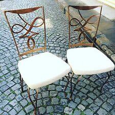 Table Et 6 Chaises Design Italien De Style Art Deco Années 40