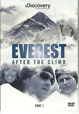 EVEREST AFTER THE CLIMB PART 1 DVD - DISCOVERY CHANNEL