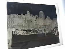 1949 Montreal Quebec Canada olf automobiles photo negative 2.5x3.5-inch SHARP!