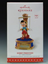 NEW 2015 Disney Pinocchio 75th Anniversary HALLMARK KEEPSAKE ORNAMENT 2016 MIB