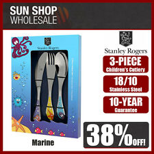 100% Genuine! STANLEY ROGERS Children's 3 Piece Cutlery Set Marine! RRP $39.95!