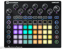 NOVATION CIRCUIT Midi Sinth Drum Machine Midi Usb Sequencer DAW GrooveBox NUOVO