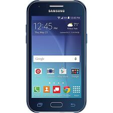 New Samsung Galaxy J1 SM-J100 8GB (Verizon Prepaid) 4G LTE 5MP Blue Smartphone