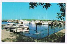 DUNCAN L. CLINCH YACHT HARBOR TRAVERSE CITY  MICHIGAN - POSTCARD # 3EK-162