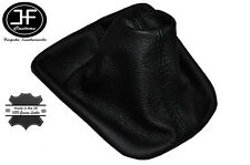 BLACK STITCH FITS VW POLO MK3 FL 6N 6N2 LUPO 1994-2001 GAITER REAL LEATHER