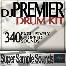 DJ PREMIER Drum Sound Kit Hip Hop Rap Akai MPC NI Maschine Ableton Logic Samples
