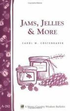 Jams, Jellies, and More Book~Flavorful Recipes for Fresh Fruit Preserves~NEW!