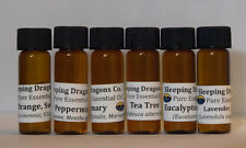 """Essential Six"" 6 Pure Essential Oils Basic Aromatherapy Set, SHIPS FREE in USA"