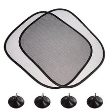 2Pc Car Side Front Rear Window Sun Shade Visor Shield Mesh Screen Baby Sunscreen