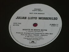 "Julian Lloyd Webber:  Nights in White Satin  7""  UK PROMO"