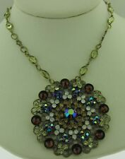 Sorrelli Iced Coffee Necklace NBP35AGICO Antique gold tone