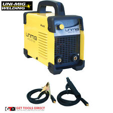 New Unimig 160 amp Inverter ARC / MMA Welder KUMJRAL160
